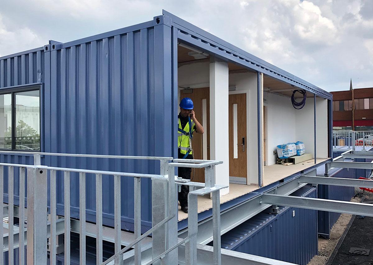 container conversions wolverhampton market