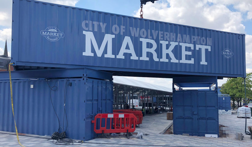 container conversions wolverhampton market